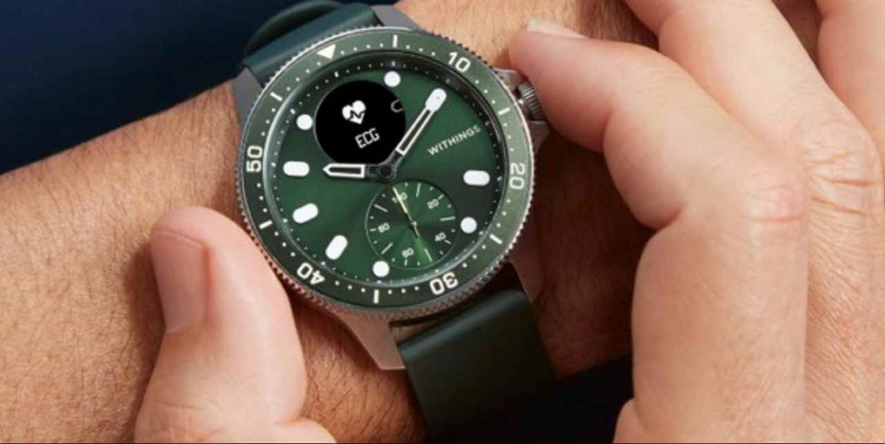 Withings, lo scanwatch