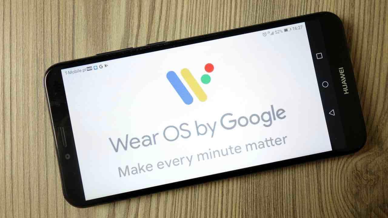 Smartwatch WearOS Snapdragon Wear 5100