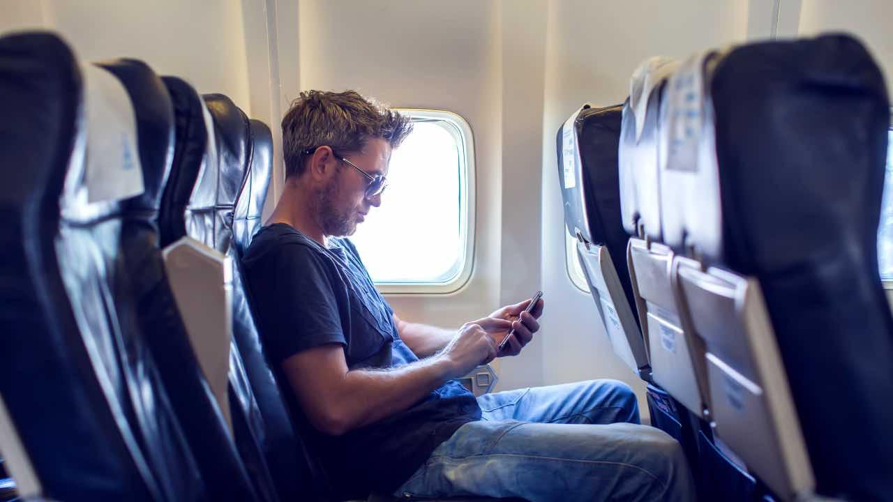 cellulare aereo