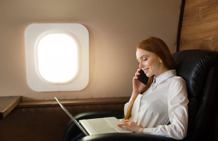aereo cellulare