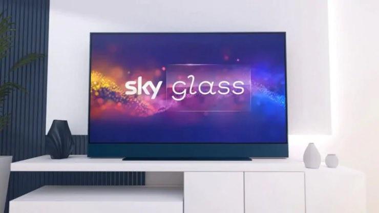 smart tv sky glass